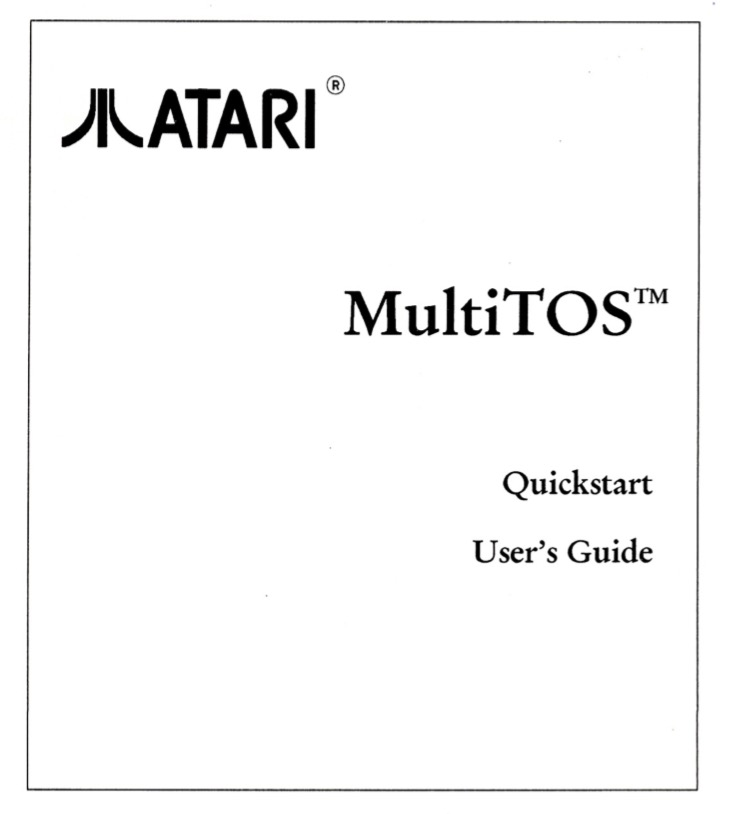 Atari MultiTOS