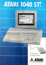 Prospekt Atari 1040 STF